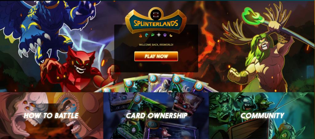 make money in splinterlands dapp game