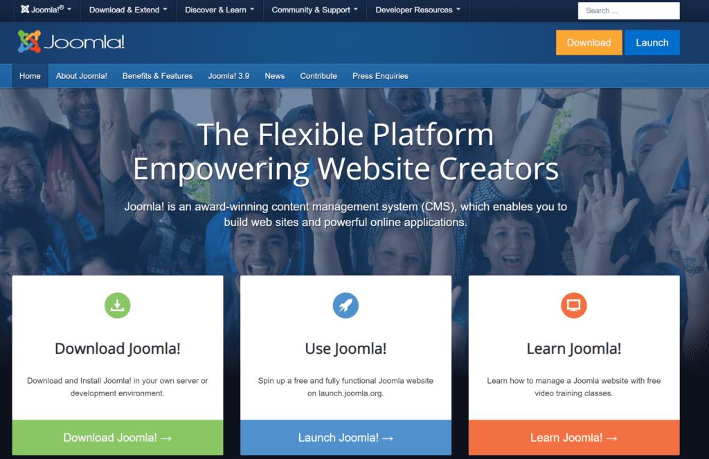 Joomla cms 5 Best Paid Blogging Platforms