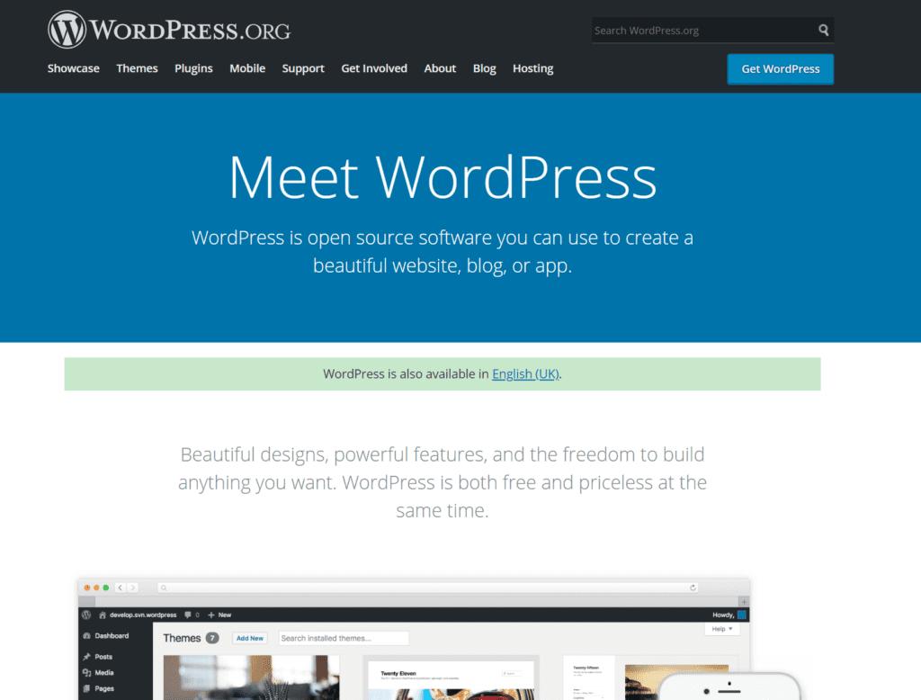 Wordpress.org best paid blogging platform