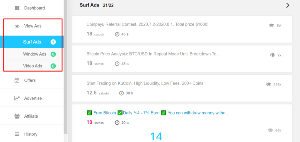 How Many Bitcoins Can I Earn in Coinpayu?