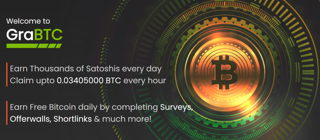 Earn Free Bitcoin Daily with GraBTC