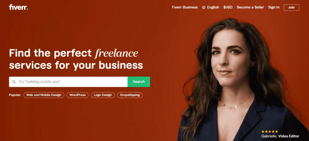 Fiverr: Best Platform for Freelancers
