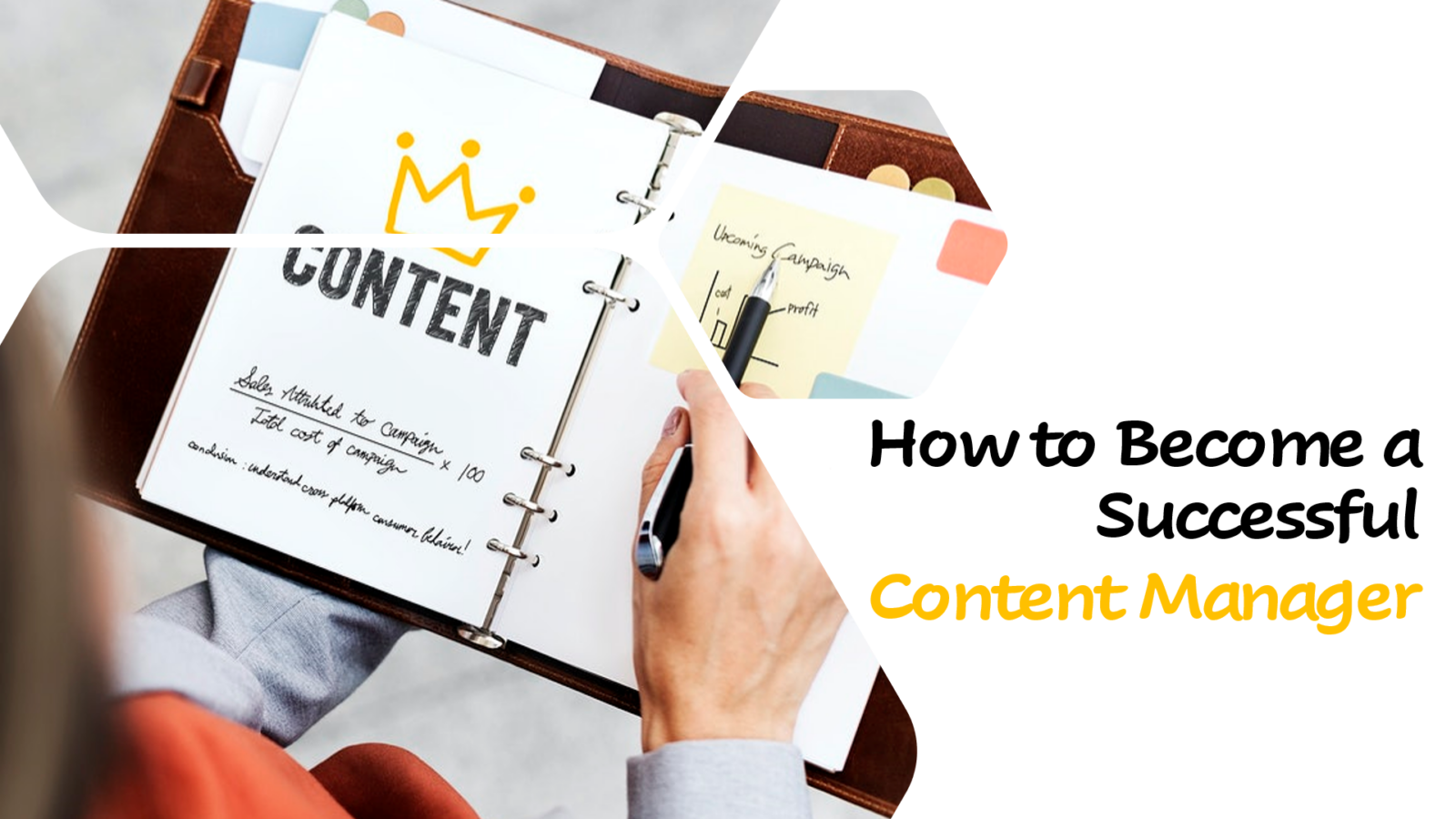 How to Become a Successful Content Manager