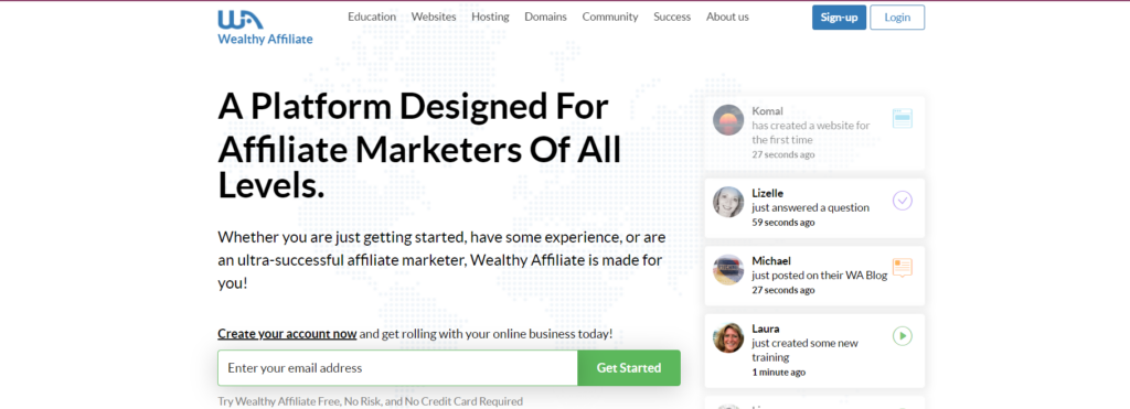 Learn and Earn Money with Wealthy Affiliate? | Job Online for Everyone