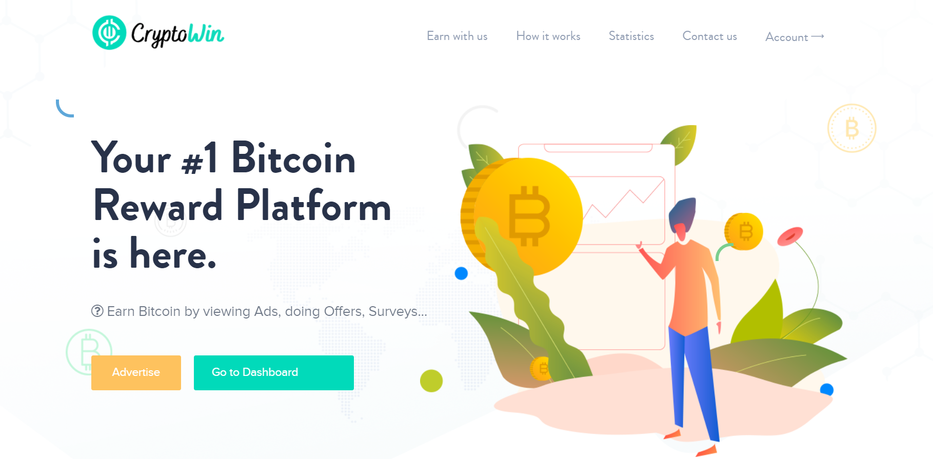CryptoWin: #1 Bitcoin Reward Platform