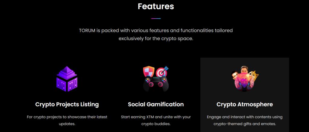 Torum: A Social Media That Pays Crypto